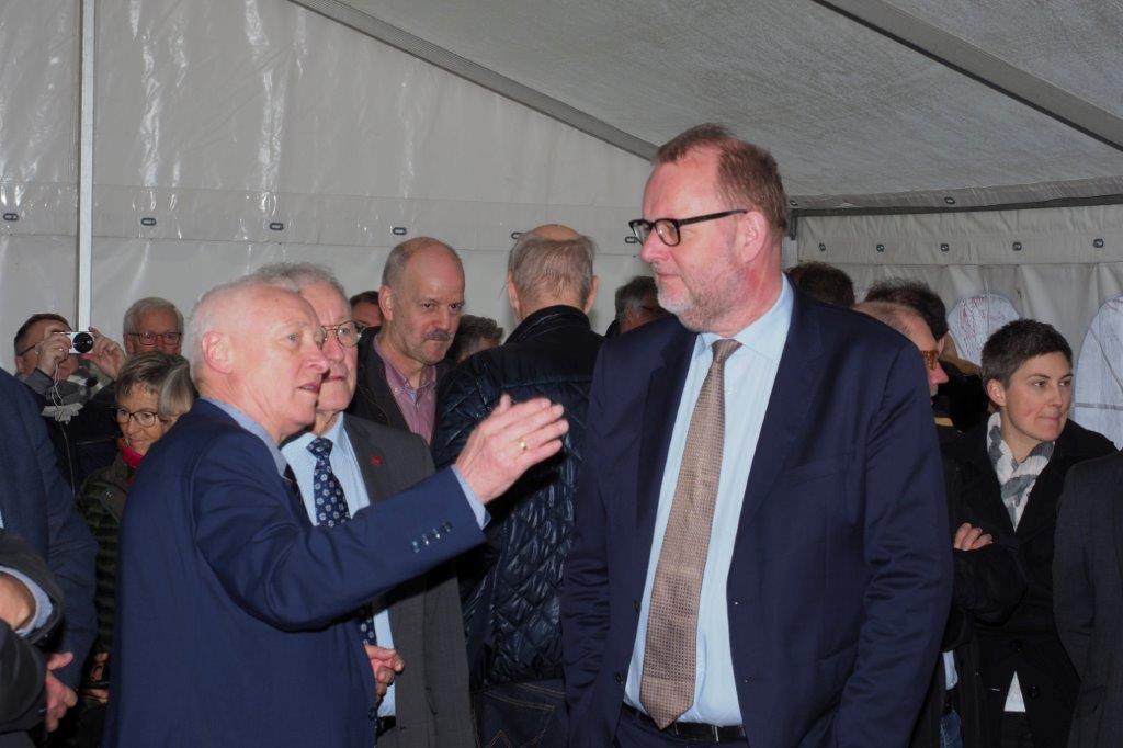 7 Formand Frede Hansen med Ministeren